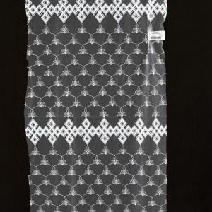 Сетка с вышивкой (Турция) 12P309 шампань