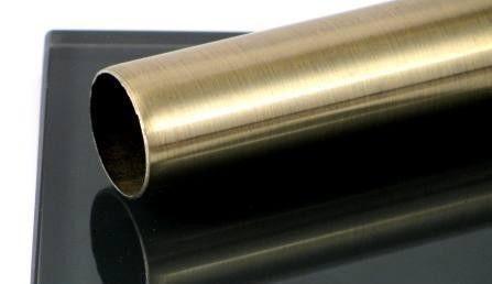 Карниз метал. труба гладкая D25-2.4 антик (20 шт/уп)