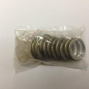 Кольцо круглое для карниза(комплект10шт+пластмассовые крючки10шт) D16 антик (100 упак/короб)