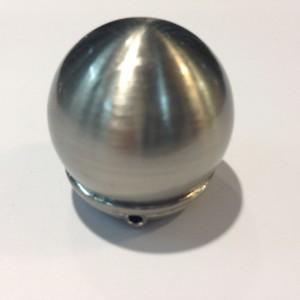 Наконечник для карниза Сфера D16 никель (100 пар/короб)