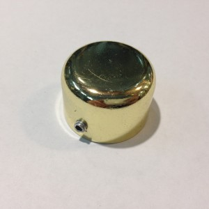 Заглушка для карниза D25 золото (100шт/уп)