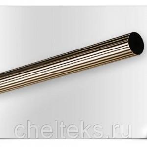Карниз метал. труба рифленая D25-2.4 антик (20 шт/уп)