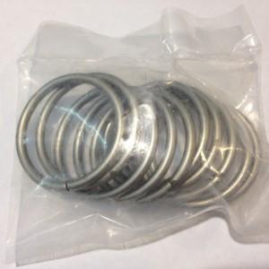 Кольцо для карниза Эконом(комплект 10 шт ) D25 сатин (100 упак/короб)