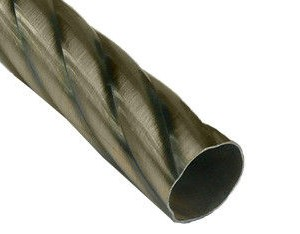 Карниз метал. труба фигурная D16-1.8 антик (20 шт/уп)